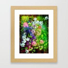 Floral Fantasy 8 Framed Art Print