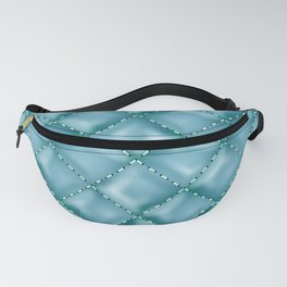 Glossy Leather Texture 5 Fanny Pack