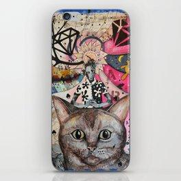 """""""Cat"""" illustration iPhone Skin"""