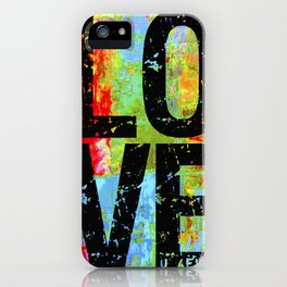 LOVE U 4EVER iPhone Case