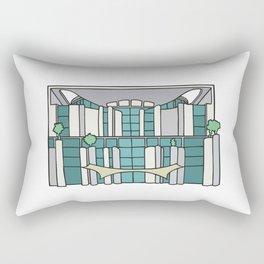 Chancellery in Berlin Rectangular Pillow