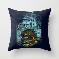 Bite me 2 Throw Pillow
