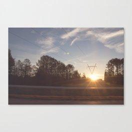 Roadtrip USA Canvas Print