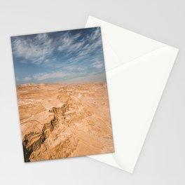 Judaean Desert, Israel. Nature photography poster art print Stationery Cards