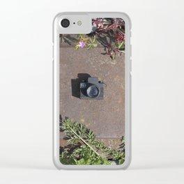 Railroad track Clear iPhone Case