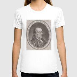 Vintage Portrait of Ben Franklin (1787) T-shirt