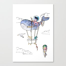 On Adventure! Canvas Print