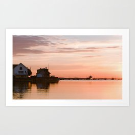 Sunrise Beach - cm2b Photography (5 of 7) Art Print