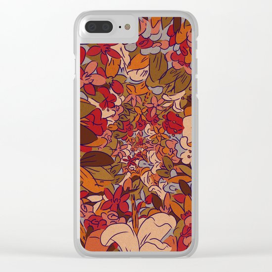 Implode Clear iPhone Case