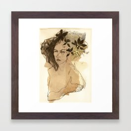 Hommage à Frida Kahlo II Framed Art Print