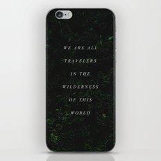 Wilderness iPhone & iPod Skin