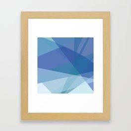 Ocean Days Blue Skies Framed Art Print