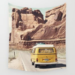 Going on a road trip Wall Tapestry