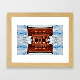 Temple Framed Art Print