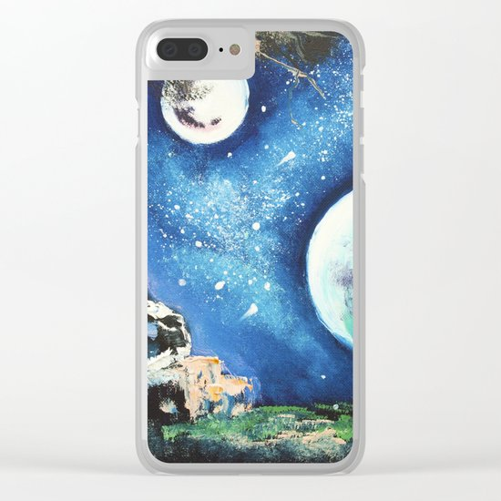 place for dreaming Clear iPhone Case