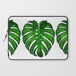 Monstera Leaf Paintings Laptop Sleeve