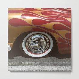 Rockabilly Burnout II Metal Print