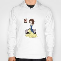 beauty and the beast Hoodies featuring Beauty and the Beast by Little Moon Dance