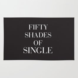 Fifty shades of single Rug