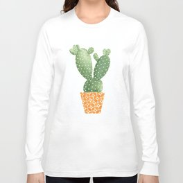 Cactus Best Friends - Prickly Pear Long Sleeve T-shirt