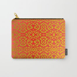 Red tones and golden tones ... Carry-All Pouch