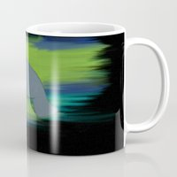 manatee Mugs featuring manatee by JadeRose