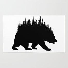 Fern and Bear Rug