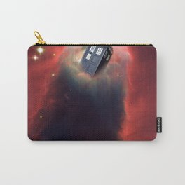 Tardis Doctor Who Pillar Of Gas Carry-All Pouch