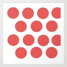 CirclePink Art Print