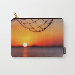 Sunset on the water, Cancun, Mexico Carry-All Pouch