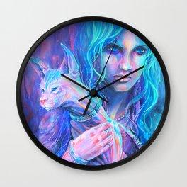 Friday Night Fortuneteller Wall Clock
