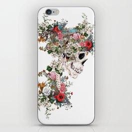 Skull Queen iPhone Skin