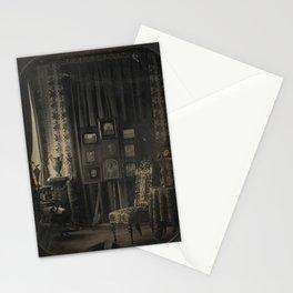 Old Photo Seamless Pattern Stationery Cards