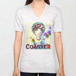 Psychedelic Coaster Unisex V-Neck