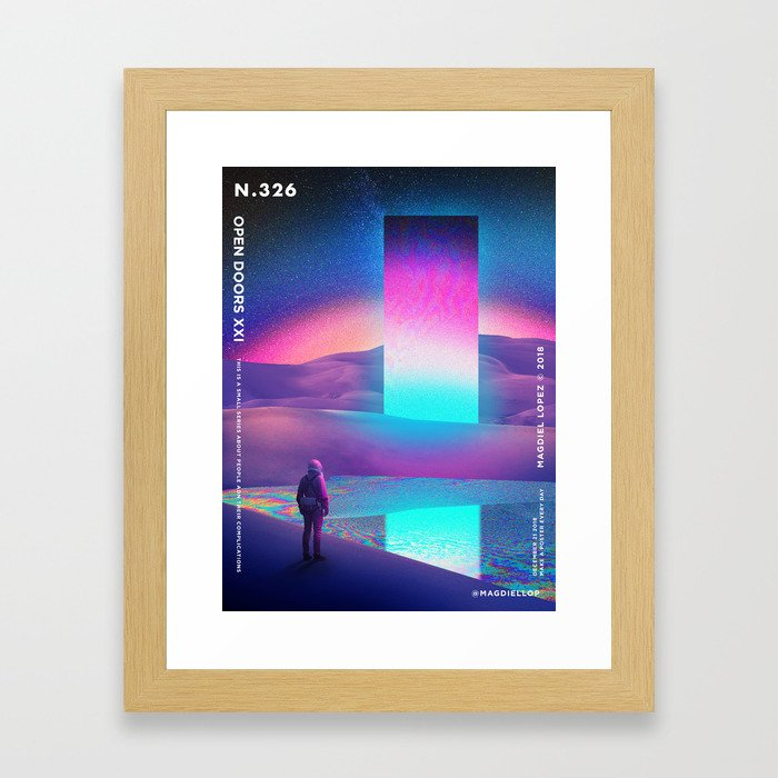 Astronaut's Dream Framed Art Print