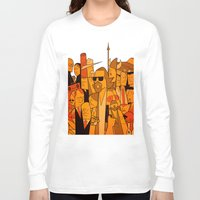 the big lebowski Long Sleeve T-shirts featuring The Big Lebowski by Ale Giorgini