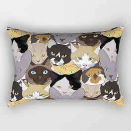 Cat takeover Rectangular Pillow