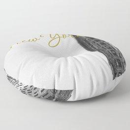Flatiron Floor Pillow