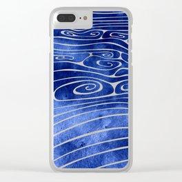 Tide XVI Clear iPhone Case