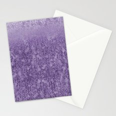 Purple Daze Abstract Stationery Cards