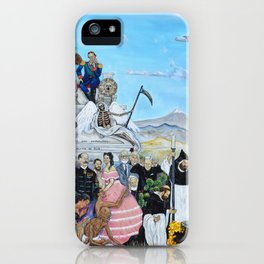 Requiem for an Empress Requiem para una Emperatriz by Juan Manuel Rocha Kinkin iPhone Case