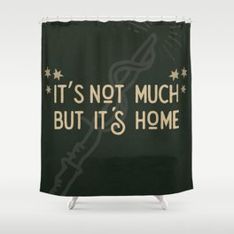 But Its Home Potter Snake Shower Curtain