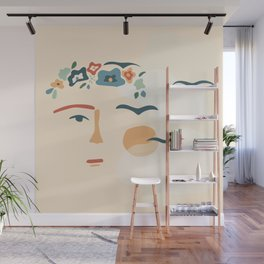 Feet, what do I need them for If I have wings to fly Wall Mural