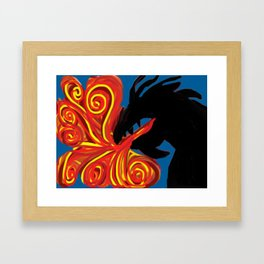 Dragon Fire Framed Art Print