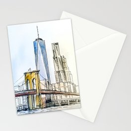 Rise up NYC Stationery Cards