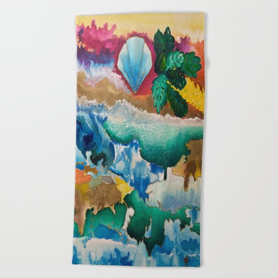 Creations of Light Reflections Beach Towel