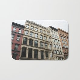 Soho Color Block Buildings Bath Mat