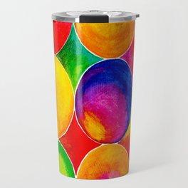Geometric Brights #2 Travel Mug