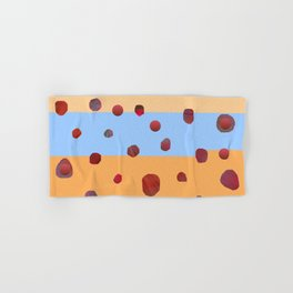 Red meteorites Hand & Bath Towel