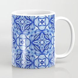 For the Love of Blue - Pattern 372 Coffee Mug